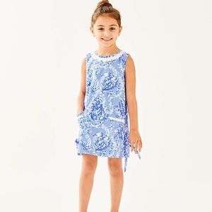 Lilly Shift Dress Blue Peri Turtley Awesome